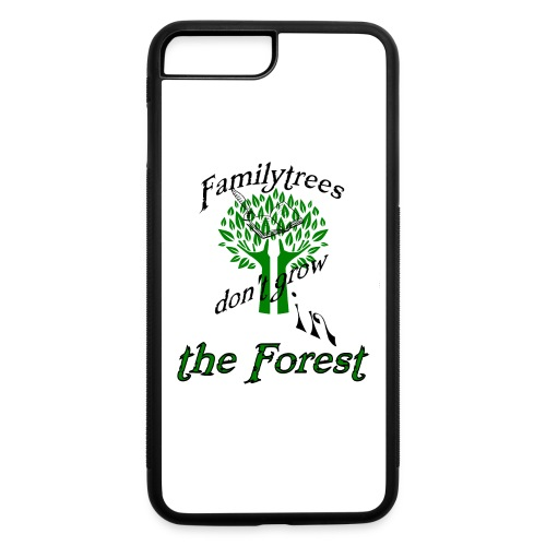 genealogy family tree forest funny birthday gift - iPhone 7 Plus/8 Plus Rubber Case