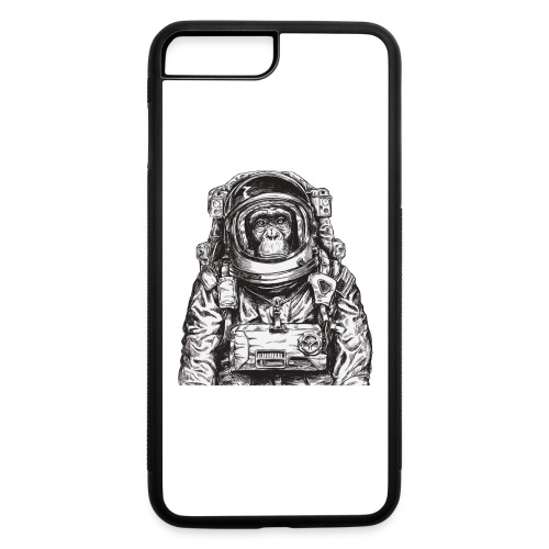 Monkey Astronaut - iPhone 7 Plus/8 Plus Rubber Case
