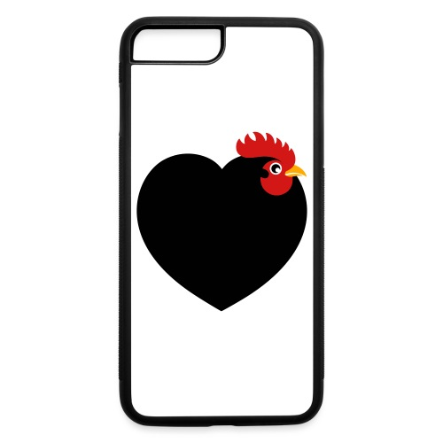 I love chickens - iPhone 7 Plus/8 Plus Rubber Case
