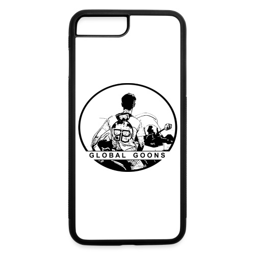 GLOBAL GOONS Moto Black - iPhone 7 Plus/8 Plus Rubber Case
