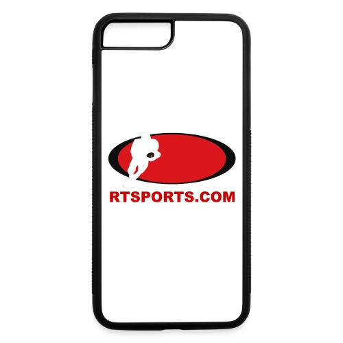 Logo and Site - Red - iPhone 7 Plus/8 Plus Rubber Case