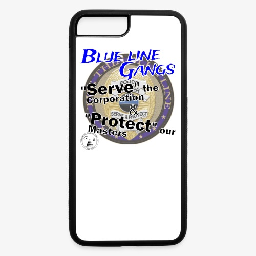 Thin Blue Line - To Serve and Protect - iPhone 7 Plus/8 Plus Rubber Case