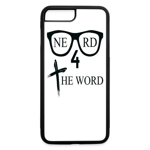 Nerd 4 The Word Design png - iPhone 7 Plus/8 Plus Rubber Case