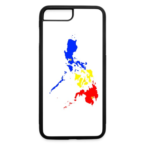 Philippines map art - iPhone 7 Plus/8 Plus Rubber Case