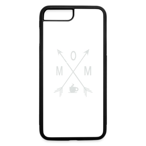 Mom Loves Coffee - iPhone 7 Plus/8 Plus Rubber Case