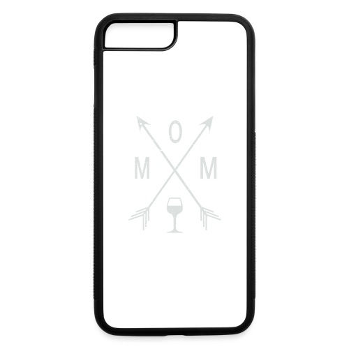 Mom Wine Time - iPhone 7 Plus/8 Plus Rubber Case