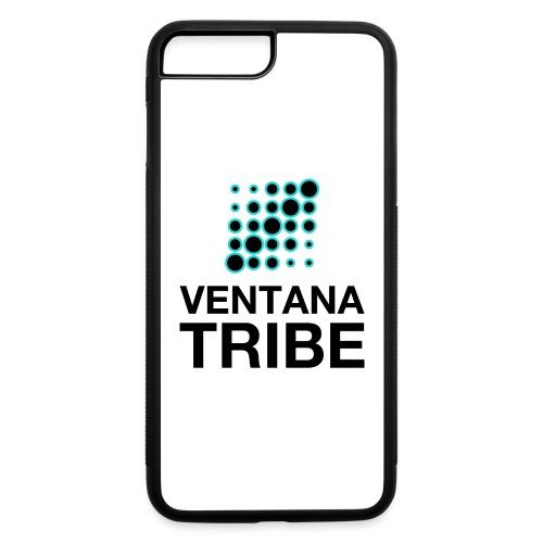 Ventana Tribe Black Logo - iPhone 7 Plus/8 Plus Rubber Case