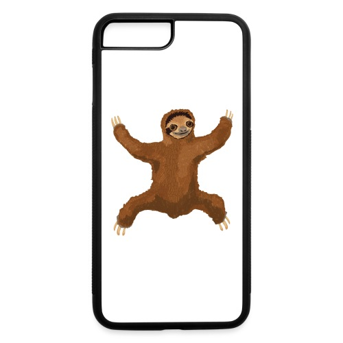 Sloth Love Hug - iPhone 7 Plus/8 Plus Rubber Case