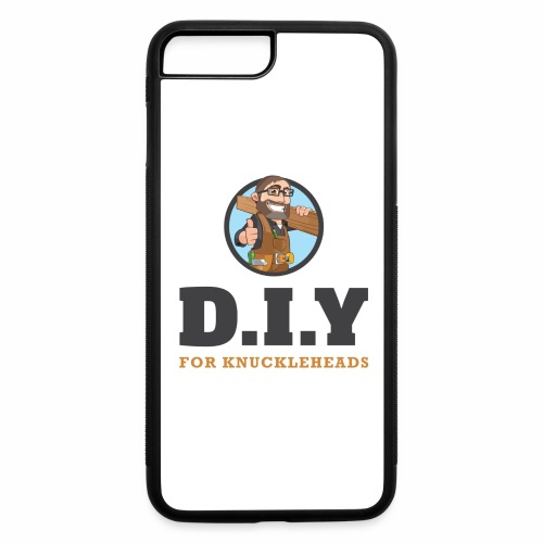 DIY For Knuckleheads Logo. - iPhone 7 Plus/8 Plus Rubber Case
