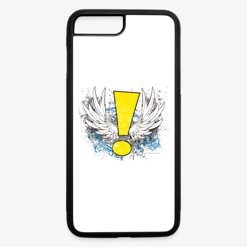 Winged Whee! Exclamation Point - iPhone 7 Plus/8 Plus Rubber Case