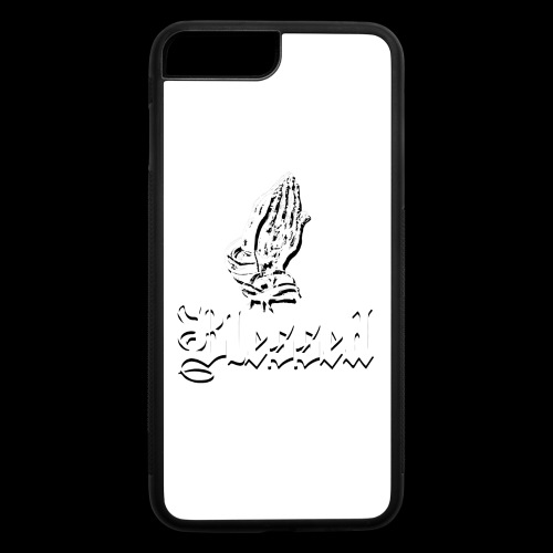 Blessed White - iPhone 7 Plus/8 Plus Rubber Case