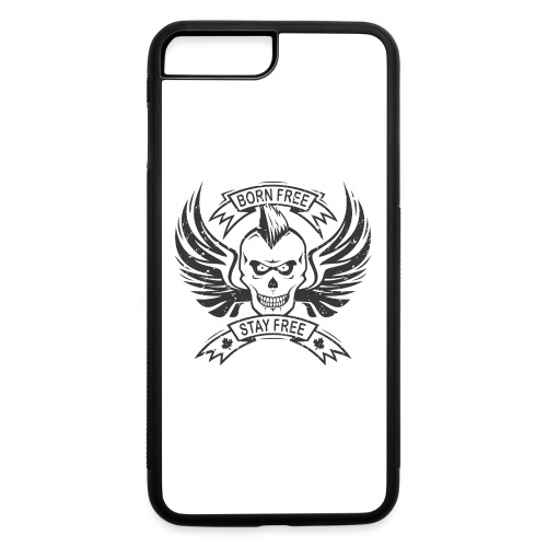 Born Free Stay Free - iPhone 7 Plus/8 Plus Rubber Case