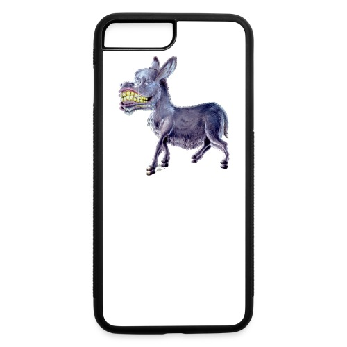 Funny Keep Smiling Donkey - iPhone 7 Plus/8 Plus Rubber Case
