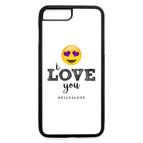 I LOVE you - iPhone 7 Plus/8 Plus Rubber Case