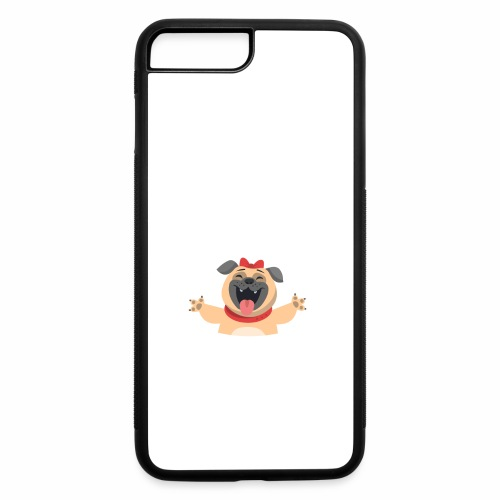 In love with my PUG - iPhone 7 Plus/8 Plus Rubber Case