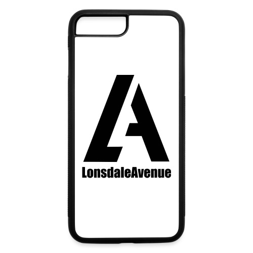 Lonsdale Avenue Logo Black Text - iPhone 7 Plus/8 Plus Rubber Case