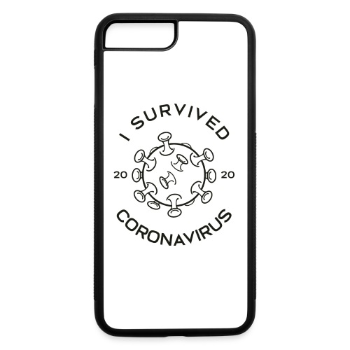 I Survived The Coronavirus Pandemic - iPhone 7 Plus/8 Plus Rubber Case