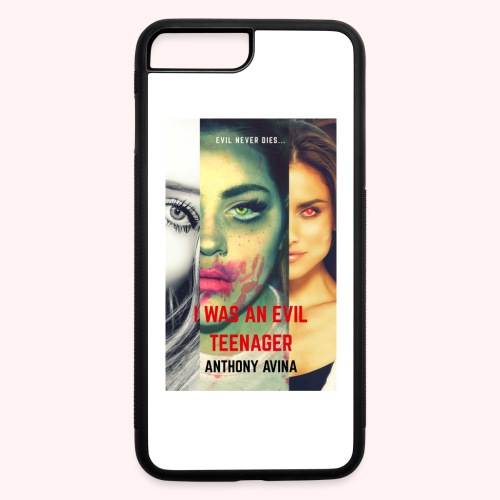 I Was An Evil Teenager Book Cover jpg - iPhone 7 Plus/8 Plus Rubber Case