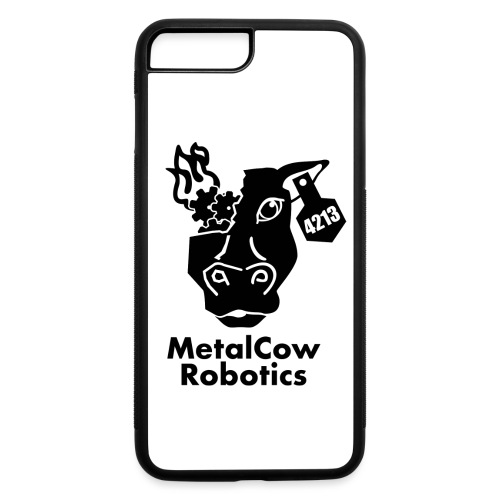 MetalCow Solid - iPhone 7 Plus/8 Plus Rubber Case