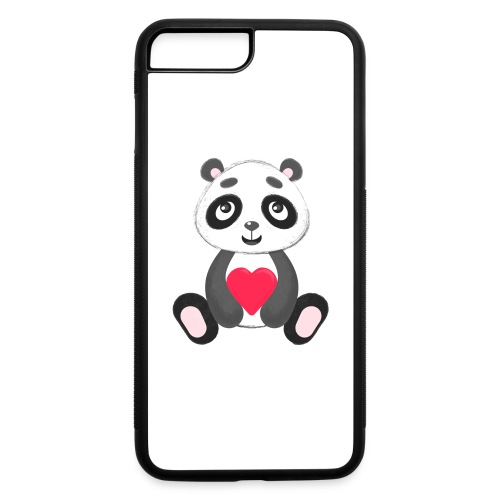 Sweetheart Panda - iPhone 7 Plus/8 Plus Rubber Case