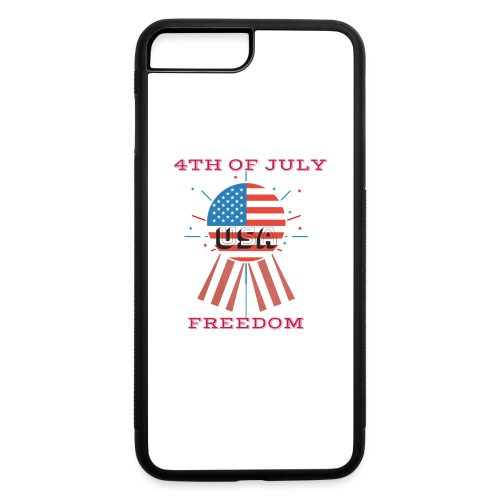 4th of July Freedom - iPhone 7 Plus/8 Plus Rubber Case