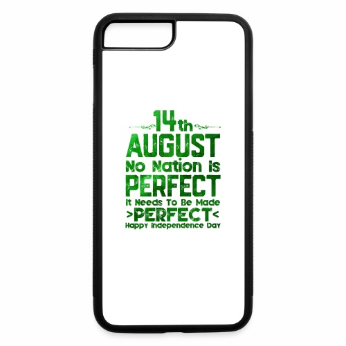 14th August Independence Day - iPhone 7 Plus/8 Plus Rubber Case
