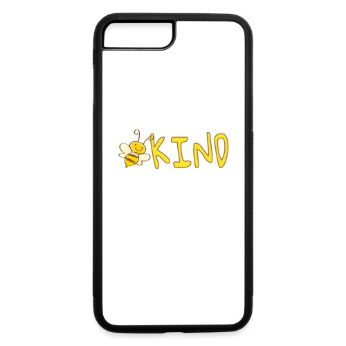 Be Kind - Adorable bumble bee kind design - iPhone 7 Plus/8 Plus Rubber Case