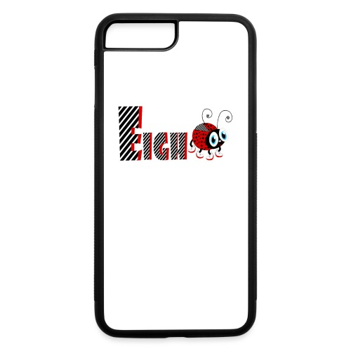 8nd Year Family Ladybug T-Shirts Gifts Daughter - iPhone 7 Plus/8 Plus Rubber Case