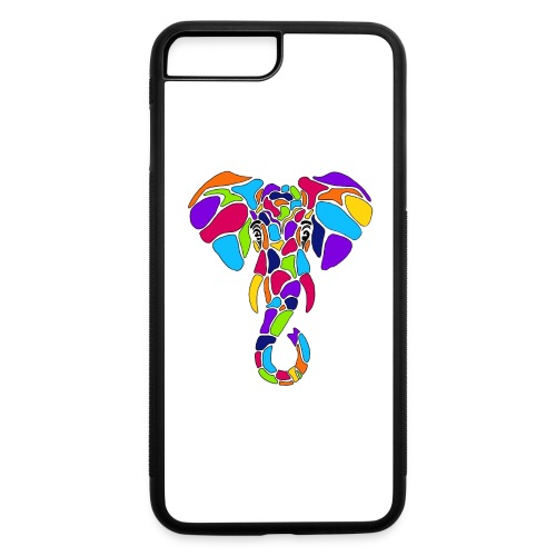 Art Deco elephant - iPhone 7 Plus/8 Plus Rubber Case