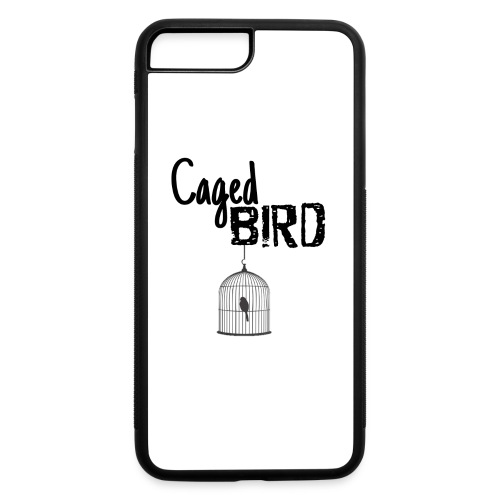Caged Bird Abstract Design - iPhone 7 Plus/8 Plus Rubber Case