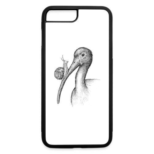 Ibis with Snail by Imoya Design - iPhone 7 Plus/8 Plus Rubber Case