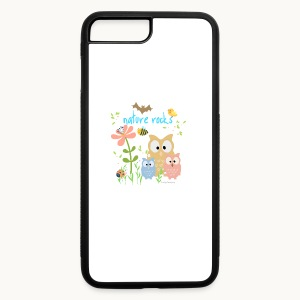 NATURE ROCKS CHILDREN Carolyn Sandstrom THR - iPhone 7 Plus/8 Plus Rubber Case