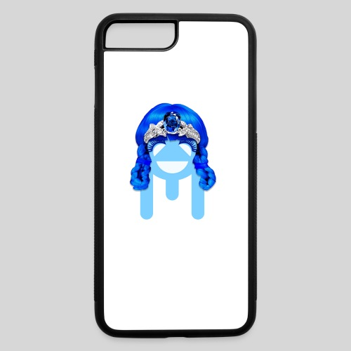 ALIENS WITH WIGS - #TeamMu - iPhone 7 Plus/8 Plus Rubber Case