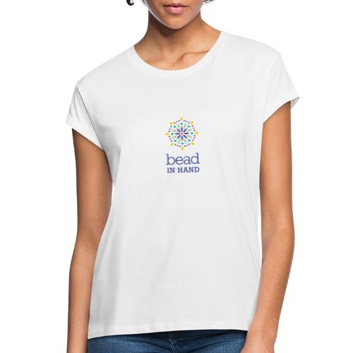 Bead In Hand Logo with Name - Women's Relaxed Fit T-Shirt