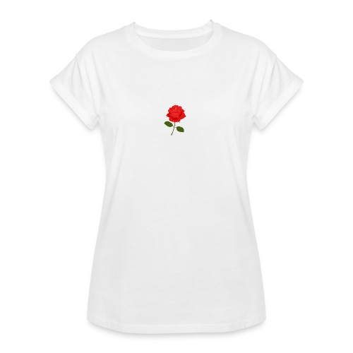 Rose Shirt - Women's Relaxed Fit T-Shirt