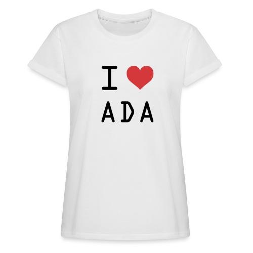 I HEART ADA (Cardano) - Women's Relaxed Fit T-Shirt