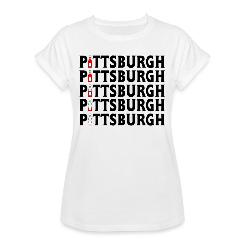 Pittsburgh (Ketchup) - Women's Relaxed Fit T-Shirt