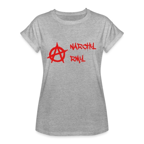Anarchy Army LOGO - Women's Relaxed Fit T-Shirt