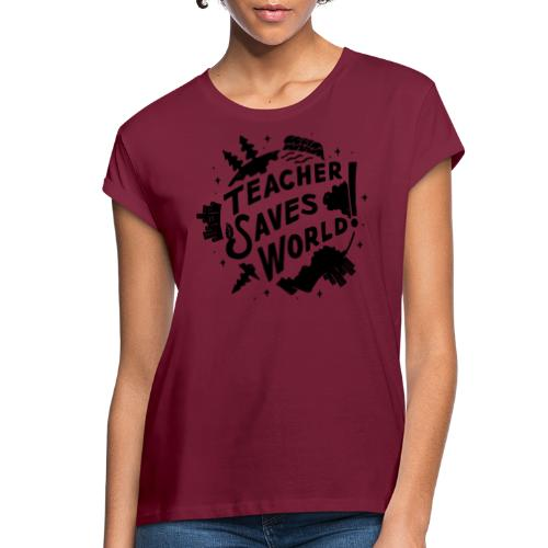 TSW! Retro World Design - Women's Relaxed Fit T-Shirt