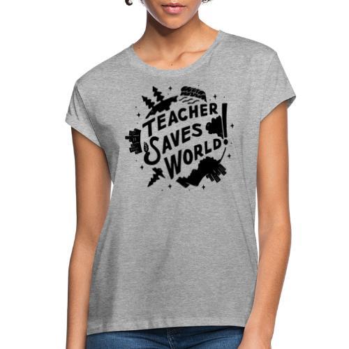TSW! Retro World Design - Women's Relaxed Fit T-Shirt
