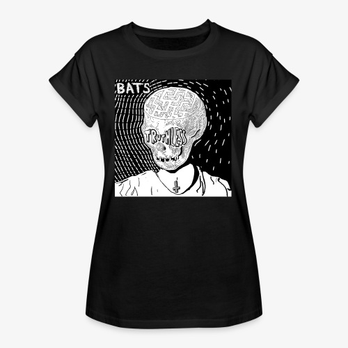 BATS TRUTHLESS DESIGN BY HAMZART - Women's Relaxed Fit T-Shirt