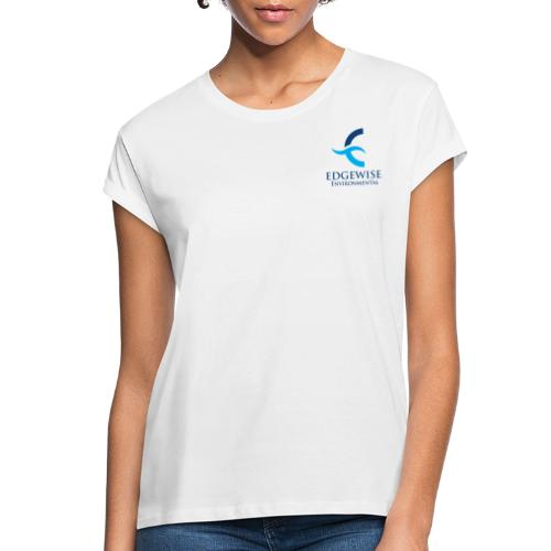 Edgewise Environmental (BLUE LOGO) - - Women's Relaxed Fit T-Shirt