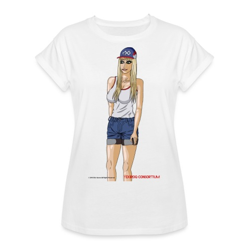 Gina Character Design - Women's Relaxed Fit T-Shirt