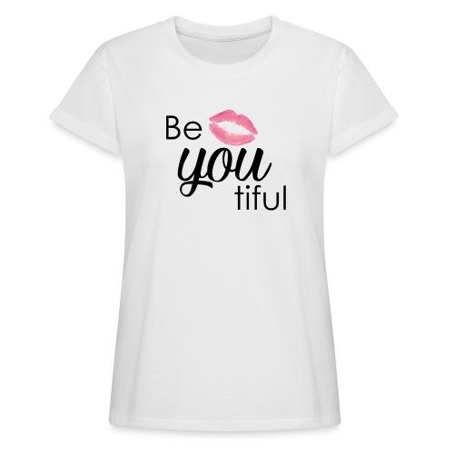 Be-You-Tiful Lip Logo - Women's Relaxed Fit T-Shirt