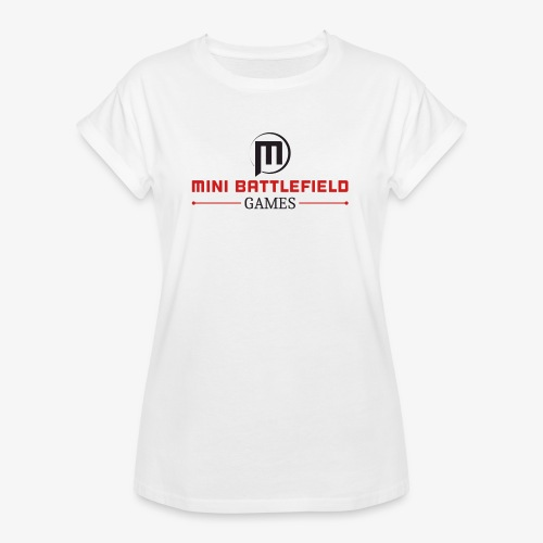 Mini Battlefield Games Logo - Women's Relaxed Fit T-Shirt