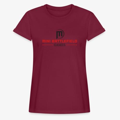 Mini Battlefield Games Logo - Women's Relaxed Fit T-Shirt