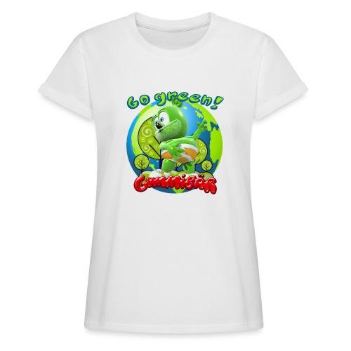 Gummibär Go Green Earth Day Earth - Women's Relaxed Fit T-Shirt