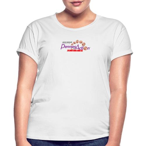 Pennies In Action Logo - Women's Relaxed Fit T-Shirt