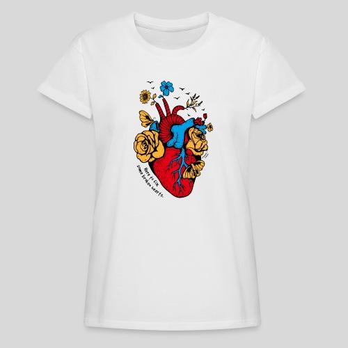 A Beautiful Heart - Women's Relaxed Fit T-Shirt