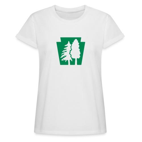 PA Keystone w/trees - Women's Relaxed Fit T-Shirt